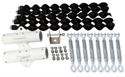 Wind turbine tower kit components