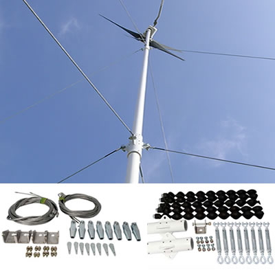 Wind turbine tower kit