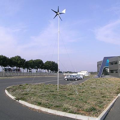 Wind turbine tower install - Plot size