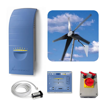1kW Wind Turbine Kit. Grid tie this superb 1kW wind turbine ...