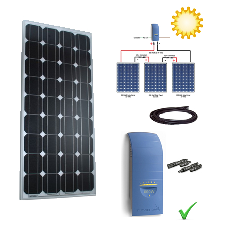 Solar Power Kit - 235W Grid Tie