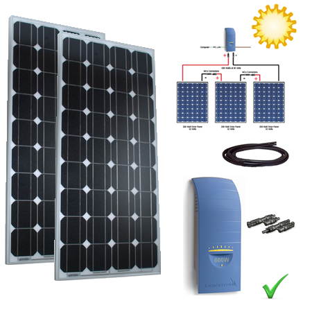 Solar Power Kit - 470W Grid Tie