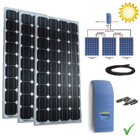 Solar Power Kit - 705W Grid Tie