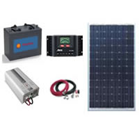 Solar Power Kit - 110W