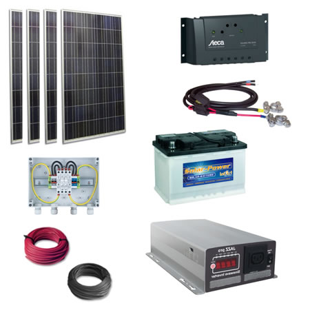 Solar Power Kit - 200W Off Grid