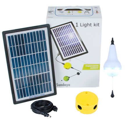 Solar Lighting Kit - LED solar lighting
